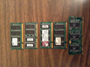 Tons of RAM for old desktops and laptops.......
