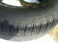 4 tires. Price includes all