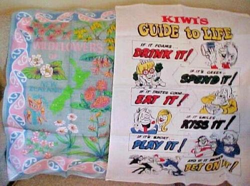 Vintage Towels (2) - Kiwi
