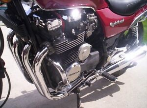 1984 CB650SC Nighthawk and comes with Parts Bike