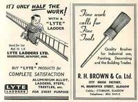 1953 Lyte Ladders Rogerstone Newport Ad - rogers - ebay.co.uk