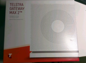 Telstra Gateway Max 2 NBN Router Modem ready For HFC