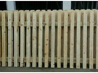 FENCE PANELS 8FT WIDE X 4FT HIGH