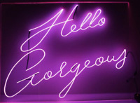 Help Making Art Project (Faux neon signs)