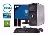 Dell Optiplex 745 Full PC Computer WiFi Intel Core2Duo 4ghz Windows 10 or 7 2GB DVDRW with Warranty