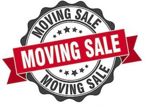 Moving/Renovation Sale - September 22 - LOTS of great items!