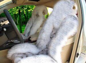 Fun Fur Car Seat Covers