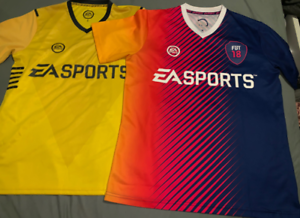 Mens FIFA 17 & 18 authentic soccer tops in great condition RARE ITEM Bulleen Manningham Area Preview