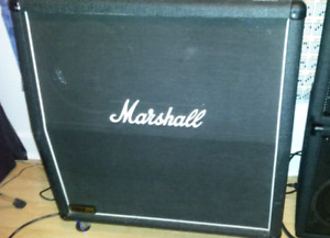 Marshall 1960 lead 4 x 12 cab