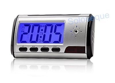 CLOCK ALARM CLOCK CAMARA SPY Hidden SENSOR MOVEMENT Clock Hidden Camera DVR