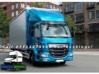 ☎️ 24/7 🚚 MAN AND LUTON VAN REMOVAL SERVICE MOVING TRUCK 7.5 TONE HIRE, LUTON VANS WITH A TAIL LIFT