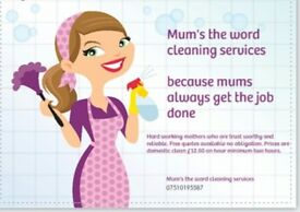 Mums the word cleaning services