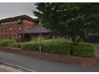 Sheltered flat at Avro Court, Aspinall Street, Middleton, M24 2EP.