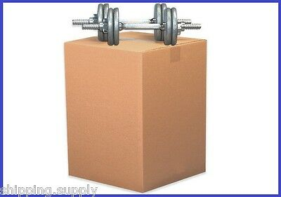15 Pack - Heavy Duty Double Wall Cardboard Shipping Boxes - 13 Sizes Available