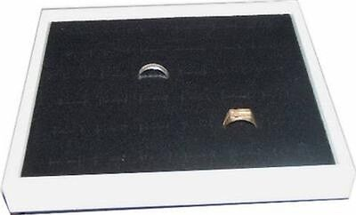 5 Quantity 36 Ring Jewelry Display Case Box White
