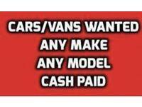 Corsa vectra zafira focus mondeo fiesta all cars bought for cash