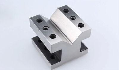 Precision V Blocks Clamp Tool Gauge V-blocks Set Workholding 606050mm T