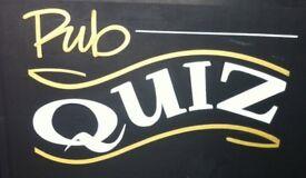 Join a pub quiz team for regular pub quiz nights