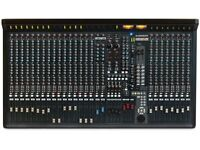 Allen & Heath GS-R24m (Motorized Faders) (NIB) INC: FireWire Int + PW supply (3 Month GAK Warranty)