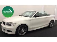 £240.35 PER MONTH 2012 BMW 120i 2.0 SPORT PLUS EDITION CONVERTIBLE PETROL MANUAL