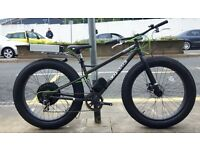 "E Power E Bike Electric Fat Bike 48v 750W Motor 26x4"" Tyres"