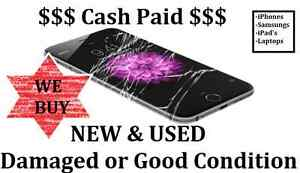 Good Cash Paid for iPhone, Galaxy, iPad -Damaged & good condition Liverpool Liverpool Area Preview