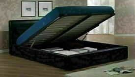 🔵💖🔴LIMITED TIME OFFER🔵💖🔴SINGLE/DOUBLE SIZE LEATHER STORAGE BEDS wDIFF OPTIONAL MATTRESSES