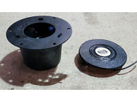Astrali (Fits Mountney) Steering Wheel hub and horn push centre, Mini, and BMC cars.