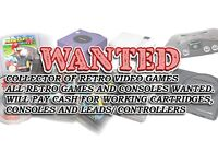 WANTED - Old video games & consoles - N64/GAMECUBE/NES & SNES/Wii, Sega Nintendo