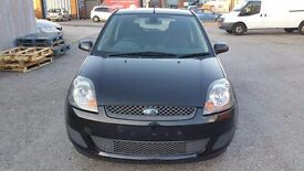 2008 FORD FIESTA ZETEC BLACK in GREAT CONDITION, 92000 , only 2 owners - BARGAIN