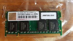 Laptop RAM DDR2 - Various Kingston Kingston Area image 1
