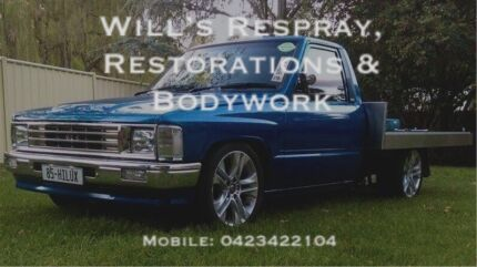 Will's Respray, Restorations & Bodywork
