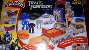 Play Doh Transformers Prime voitures
