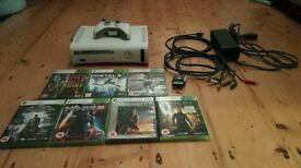 Xbox 360 8gb +7 amazing games