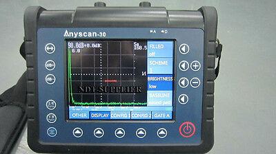 Brand New Doppler Anyscan-30 Digital Ultrasonic Flaw Detector Meter 0.5-15000mm