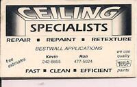 ceiling specialists