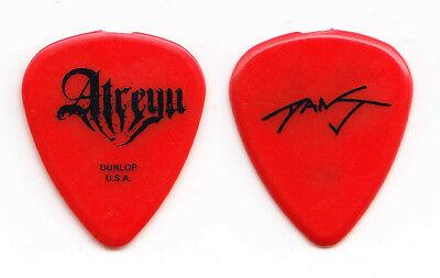 Atreyu Dan Jacobs Signature Red Guitar Pick - 2006 Tour