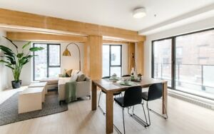 Griffintown 1 Bedroom Loft-Style Luxury Rental