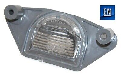 82-92 Firebird Rear License Plate Light Housing NEW GM   986