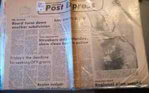 Old Toronto Star, Sunday Star, newspapers from 1970s and 1980s London Ontario image 7