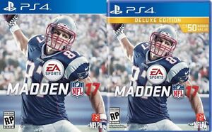 Madden 17 PS4 Deluxe Edition