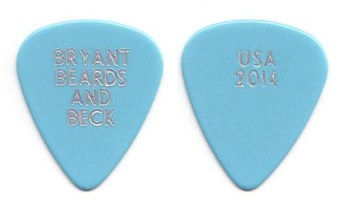 Jeff Beck Bryant Beards and Beck Light Blue Guitar Pick - 2014 Tour