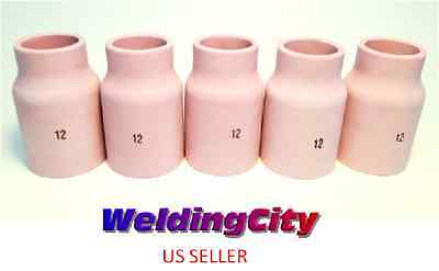5-pk Tig Welding Large Gas Lens Ceramic Cup 53n87 12 Us Seller Fast Ship