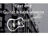 Guitar & Bass Guitar Lessons ! 5 week block bookings from £50 / learn from home