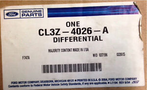 2014 Ford F150 rear differential