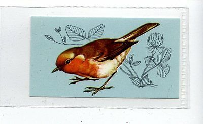 (Jd4173) TETLEY,BRITISH BIRDS,ROBIN,1970,#2