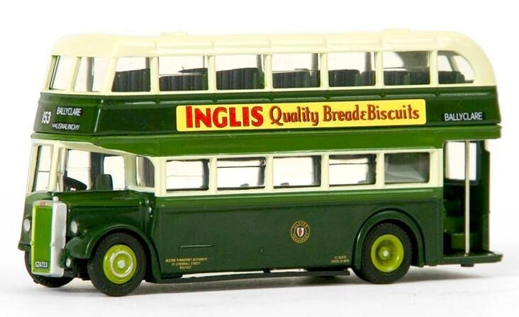 TWO NORTHERN IRELAND MODEL BUSES