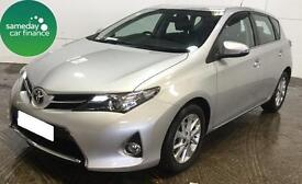 £223.01 PER MONTH SILVER 2014 TOYOTA AURIS 1.4 D-4D ICON 5 DOOR DIESEL MANUAL