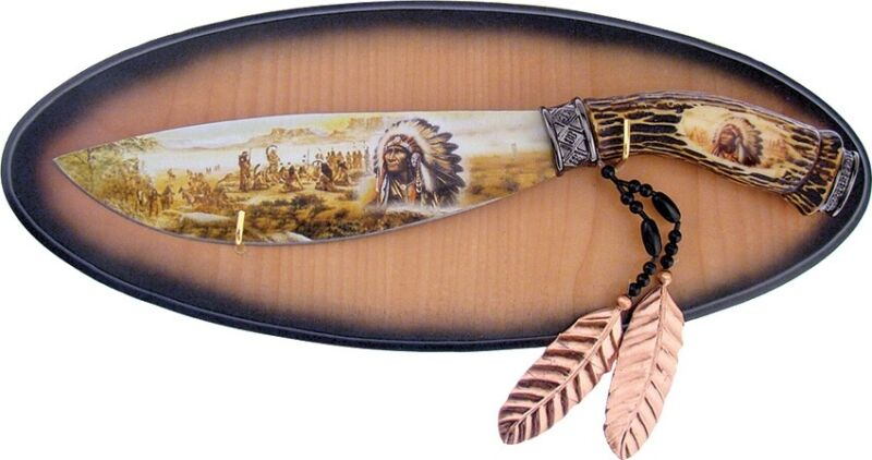 Frost Cutlery--Native American Fixed Blade