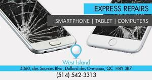 Réparation -Repair  Samsung Galaxy S4 / S5 / S6/  S7 S7 EDGE  - Samsung Note 3/ 4 /  5/  7 - Samsung Tablets